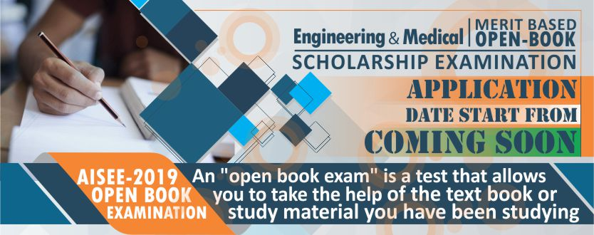 AISEE Open Book scholarship Examination